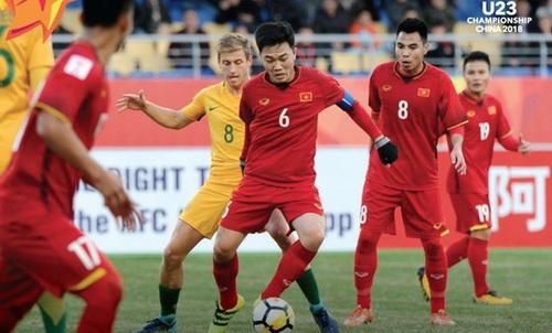 Đội hình gồm nhiều cầu thủ thi đấu tại châu Âu của U23 Australia gây thất vọng trước U23 Việt Nam.