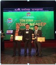 Đoàn Ninh Bình dự Lễ tôn vinh sản phẩm nông nghiệp tiêu biểu năm 2017