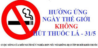 Hưởng ứng Ngày Thế giới không khói thuốc và Tuần lễ quốc gia không thuốc lá 2020